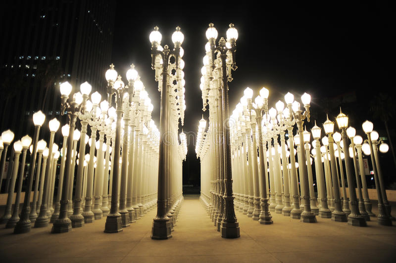 Urban light royalty free stock image