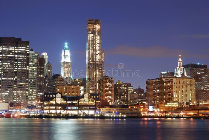 Download Urban Manhattan New York City Skyline Stock Image - Image: 14899505