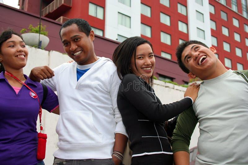 Download Urban metropolis friends stock photo. Image of employee - 4226444