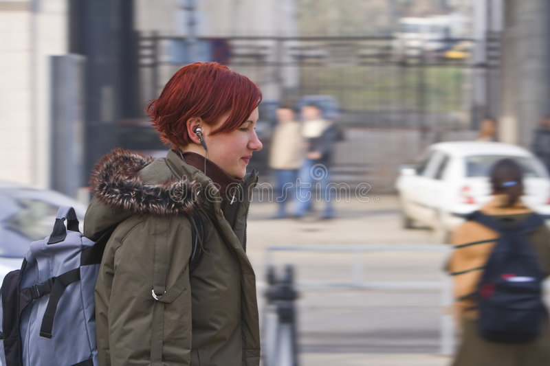 Download Urban music stock photo. Image of listen, people, city - 4108136