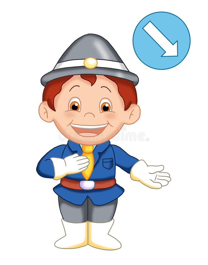 Download The urban officer 2 stock illustration. Image of urban - 14703932