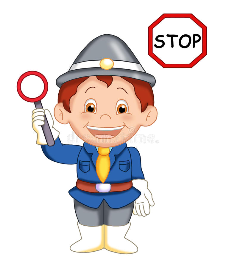 Download The urban officer 3 stock illustration. Illustration of vigilant - 14703944