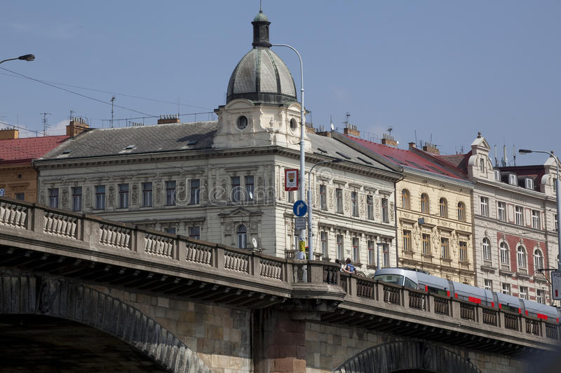 Download Urban palaces in Prague stock image. Image of capital - 20893467