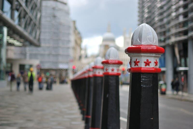 Urban perspective stock photo
