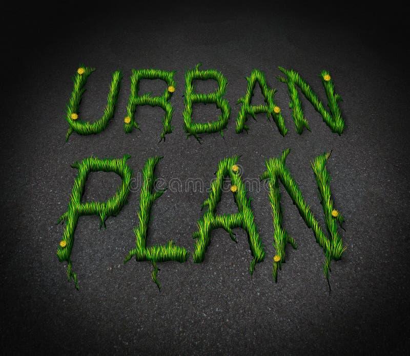 Urban Plan vector illustration