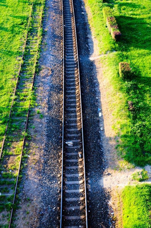 Urban Railroad Royalty Free Stock Images