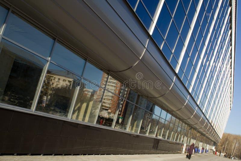 Urban rhythm. Of building windows stock photos