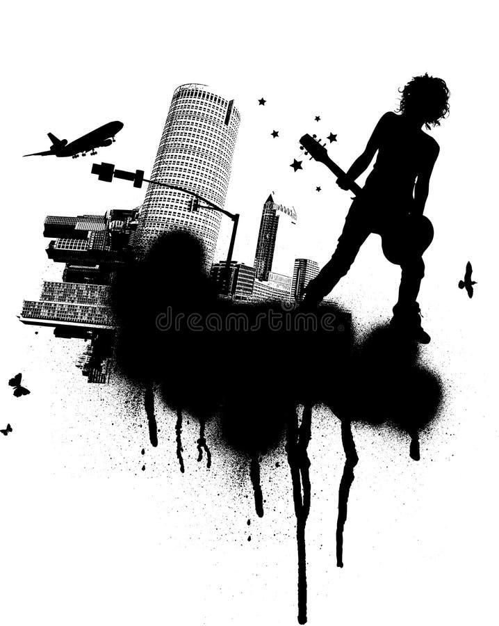 Urban Rock Band Stock Image