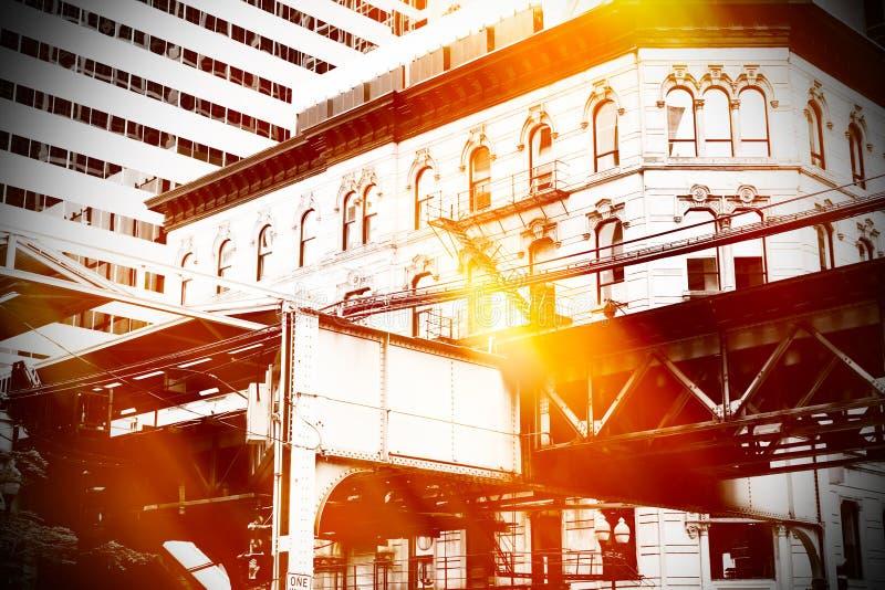 Urban scene stock photos