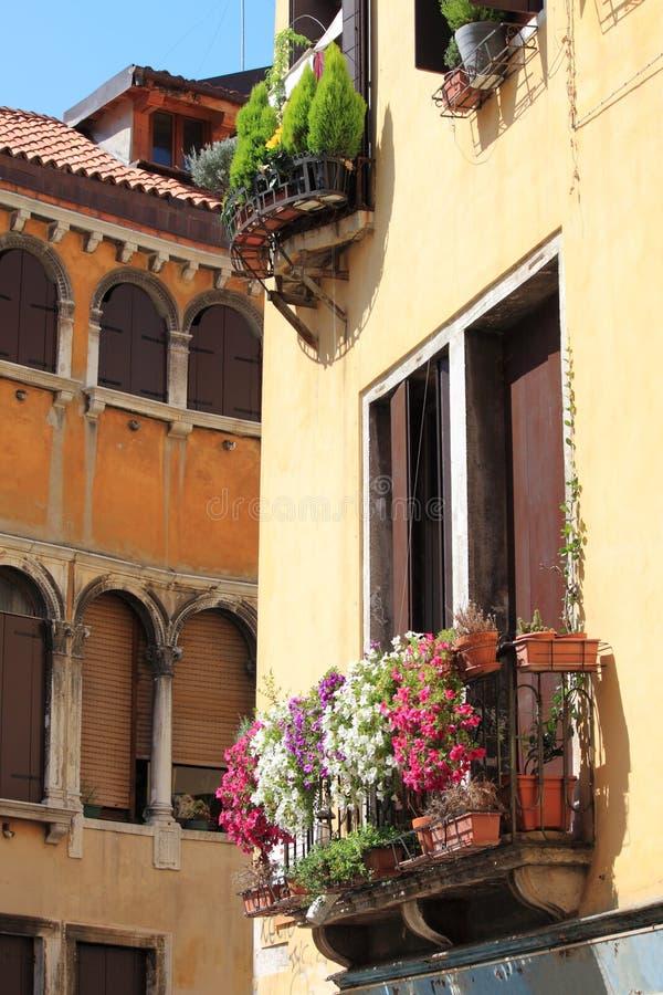 Urban scenic of Venice royalty free stock photos