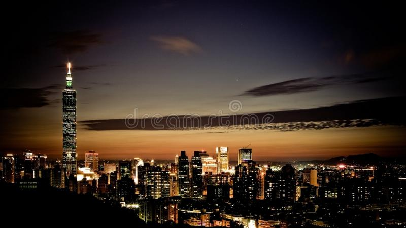 Urban Skyline stock photo