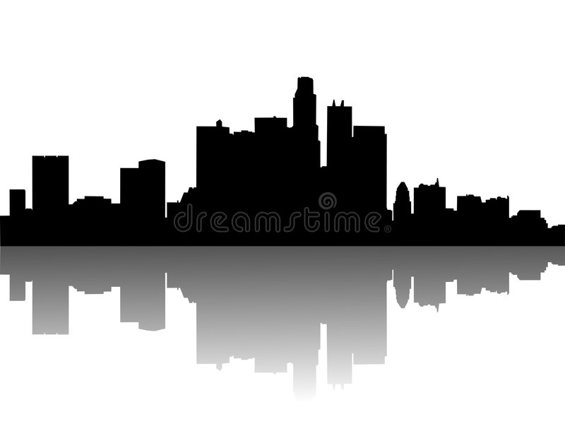 Download Urban skylines stock vector. Illustration of pack, grungy - 8351469