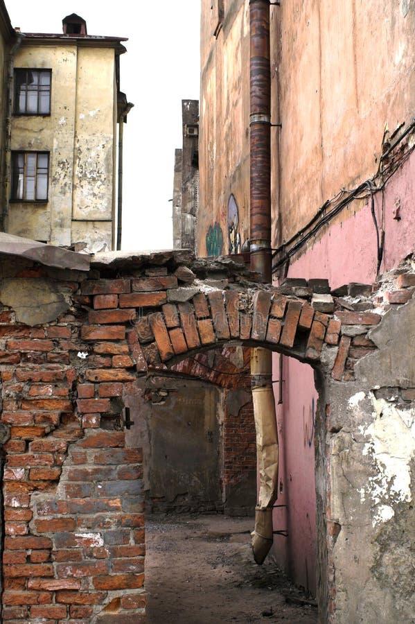Download Urban slums stock image. Image of backyard, destruction - 2154427