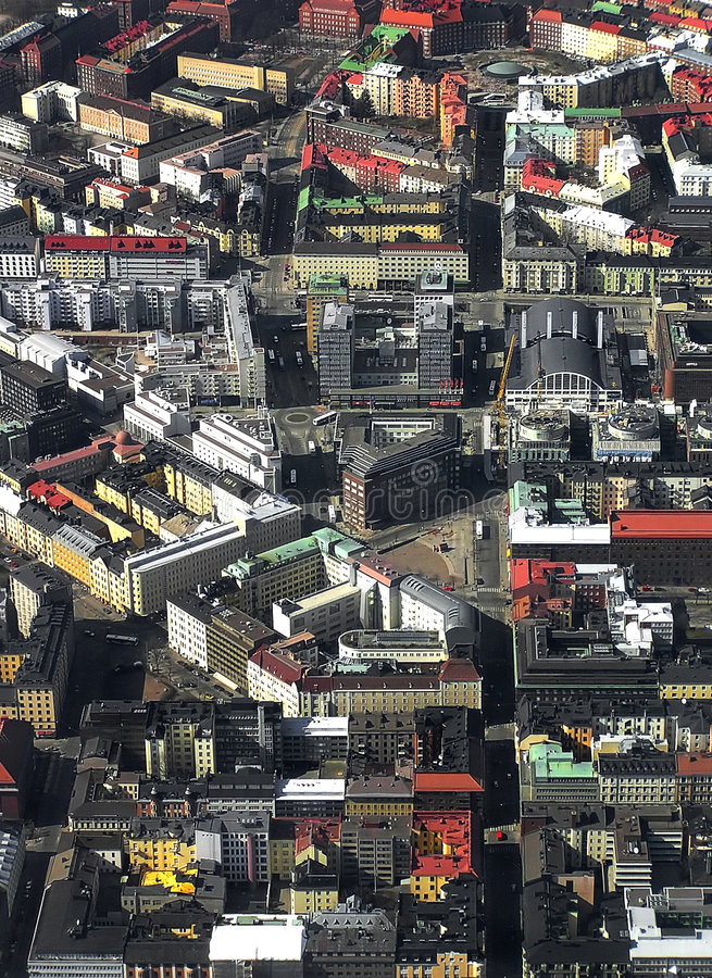 Urban Sprawl royalty free stock images