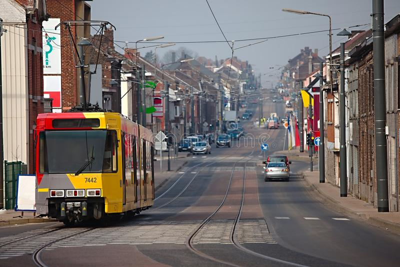 Urban Street royalty free stock image