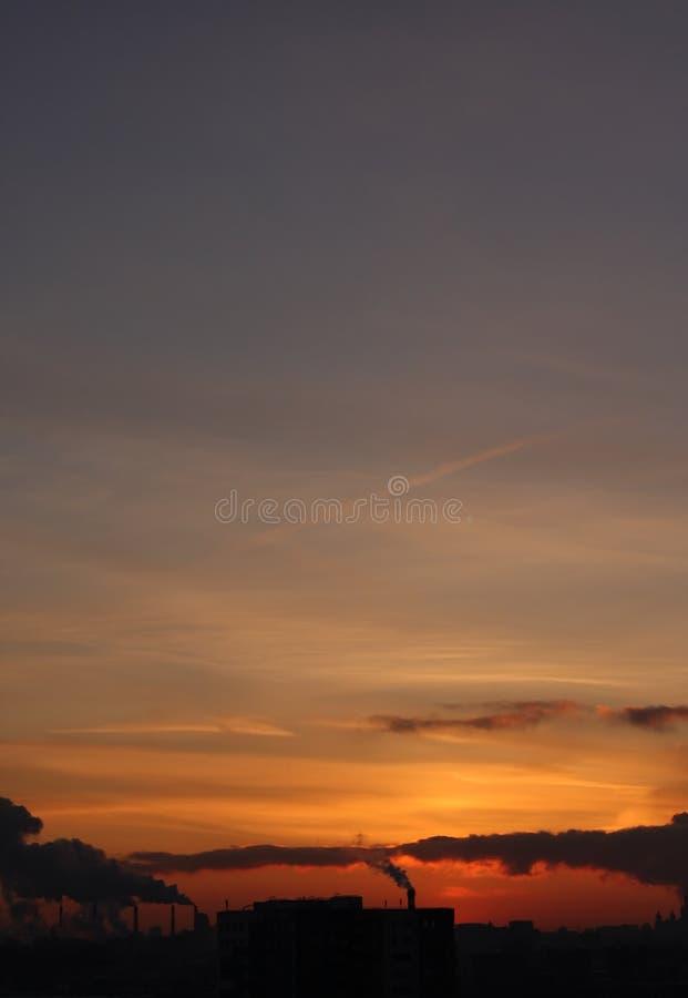 Download Urban Sunset Royalty Free Stock Photo - Image: 13057535