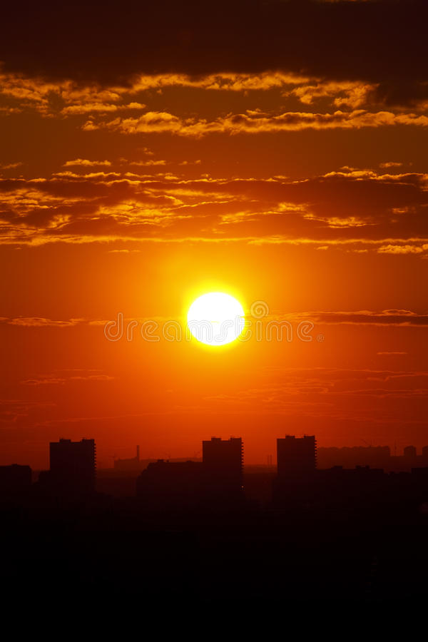 Free Urban Sunset Royalty Free Stock Images - 13206919