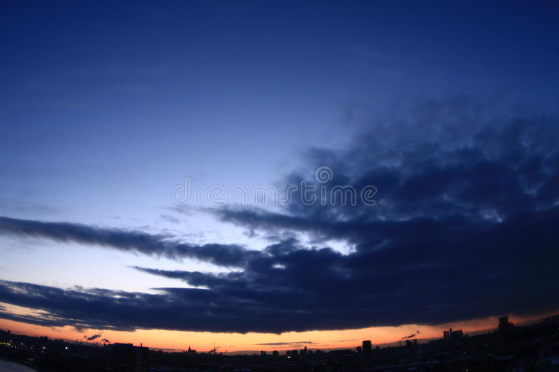 Download Urban sunset stock photo. Image of shine, shape, pipes - 13298036