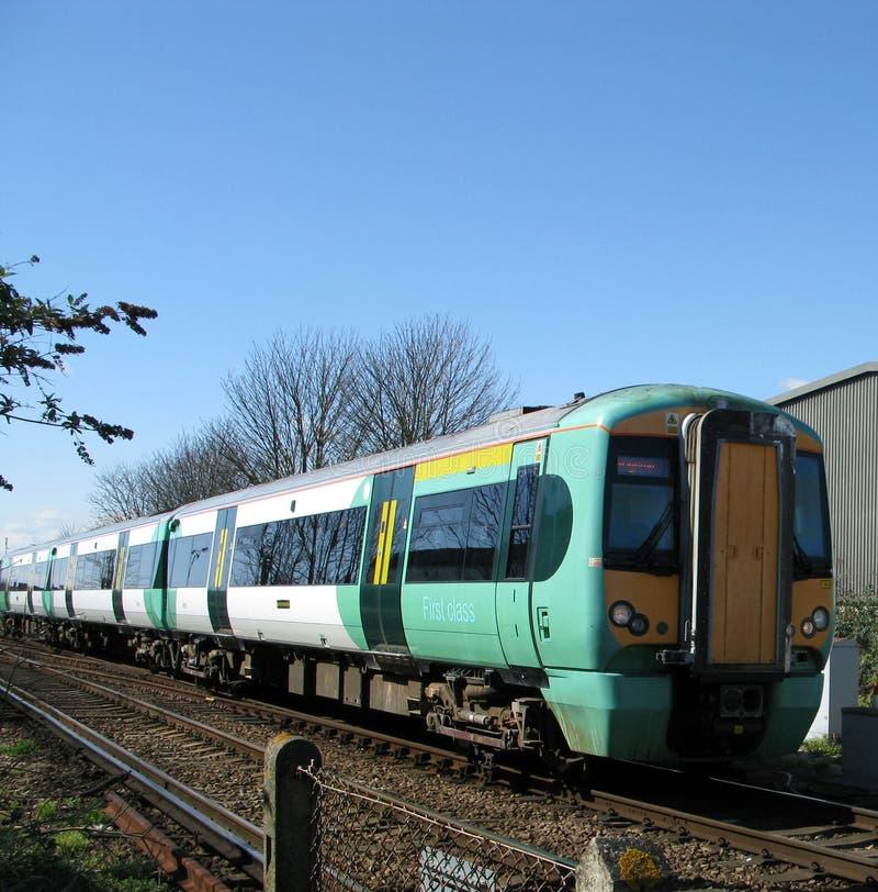 Urban trains stock photo