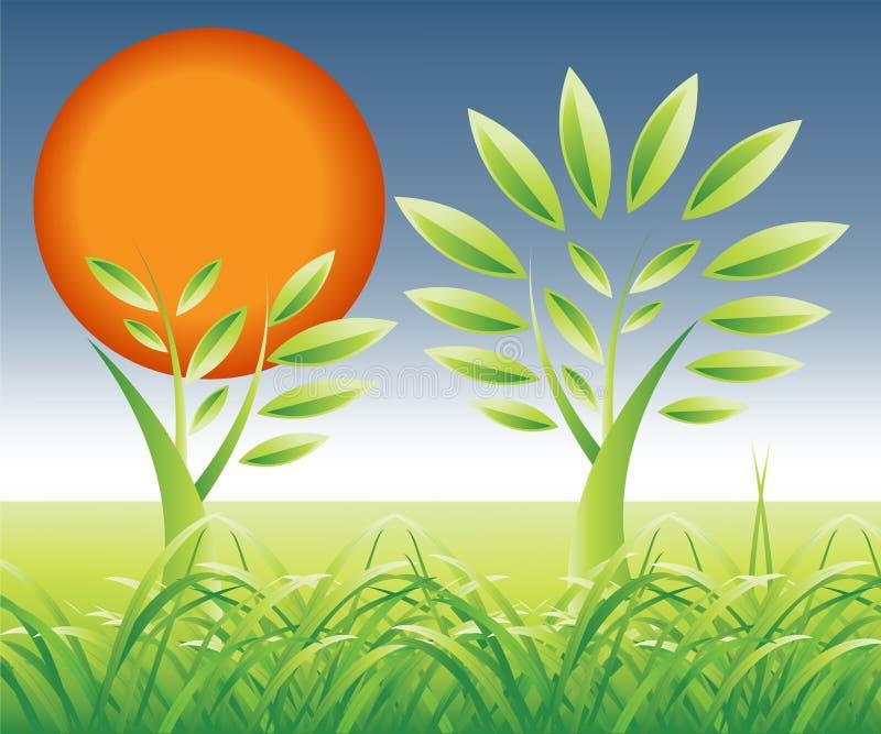 Download Urban Tree stock vector. Image of urban, grass, green - 4743066
