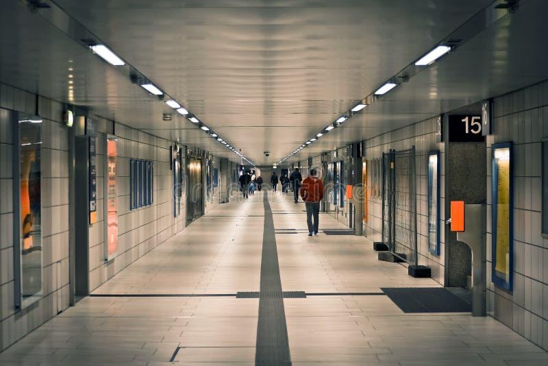 Urban tunnel royalty free stock image