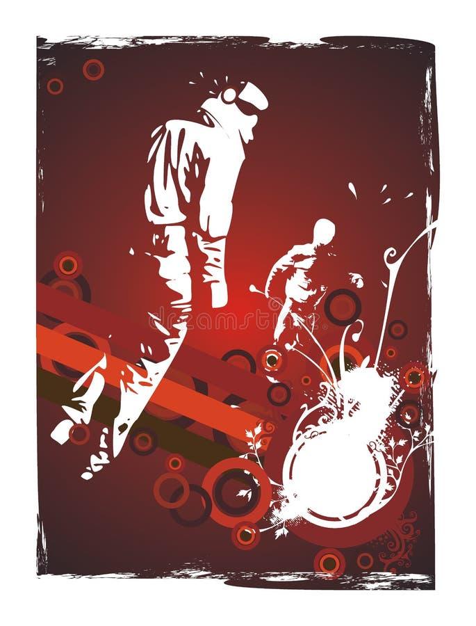 Urban underground party flyer design