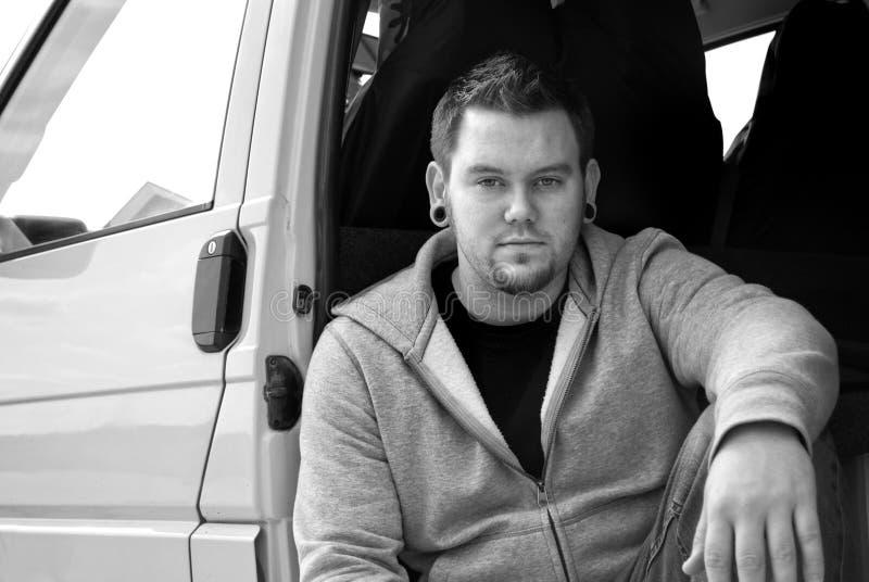 Urban Van Portrait immagini stock libere da diritti