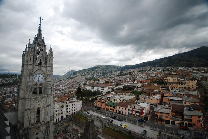 Download Urban view of Quito editorial photo. Image of scrapper - 19991166