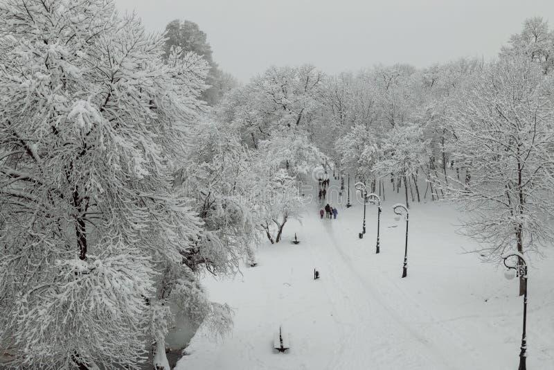 Download Urban Winter Landscape Stock Photo - Image: 83710420