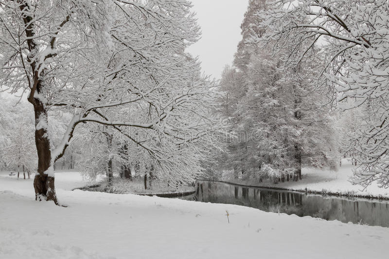 Download Urban Winter Landscape Stock Photo - Image: 83710468