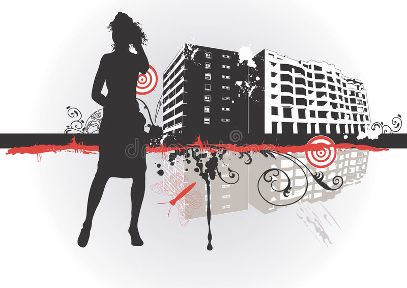 Download Urban Woman Stock Photos - Image: 4422103