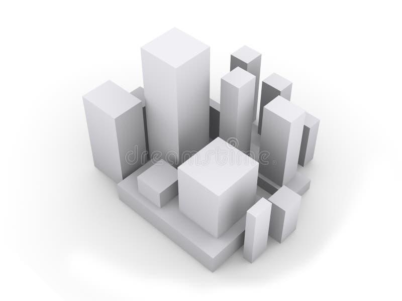 urbanation stock illustrationer