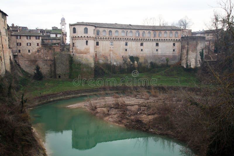 Urbania城堡 免版税库存图片