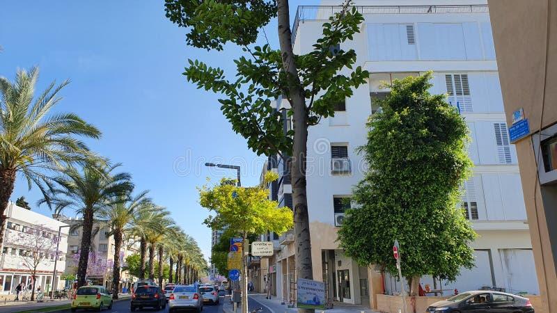 Urbanicmening van Iben Gavirol st Tel Aviv Mei 2019 royalty-vrije stock afbeeldingen
