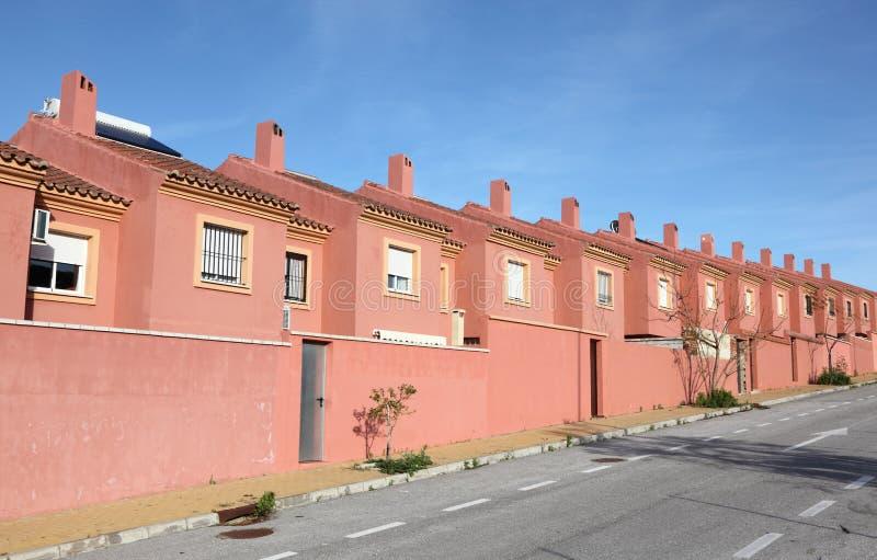 Urbanisatie in Algeciras, Spanje stock foto