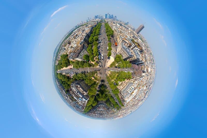 Urbanisatie van de planeet stock afbeeldingen
