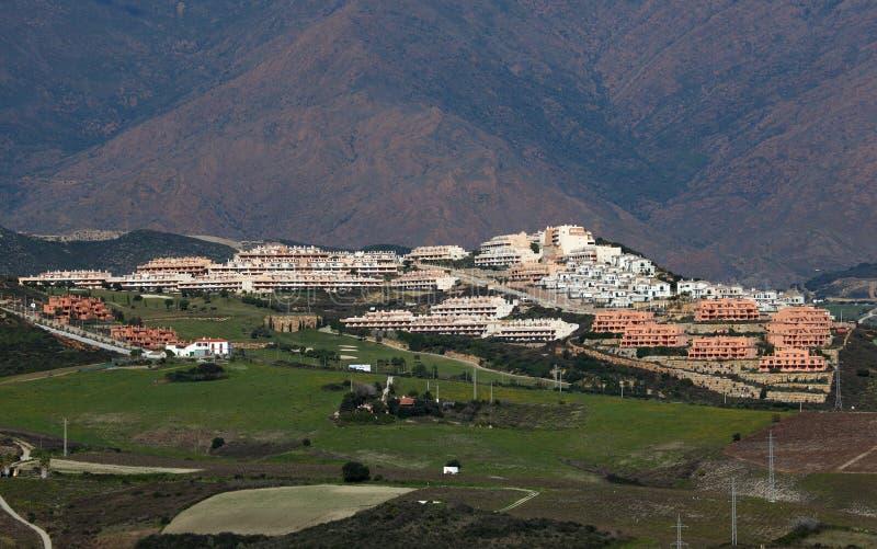 Urbanisation em Spain do sul imagens de stock