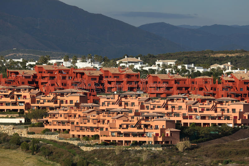 Urbanisation em Spain do sul foto de stock royalty free