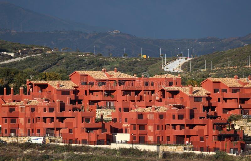 Urbanisation na Andaluzia, Spain fotos de stock royalty free
