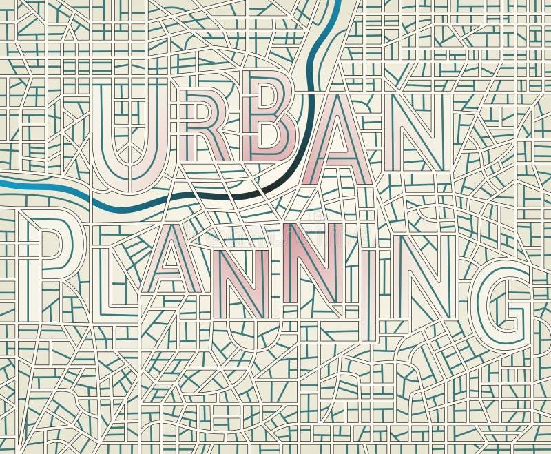 Urbanisme royalty-vrije illustratie