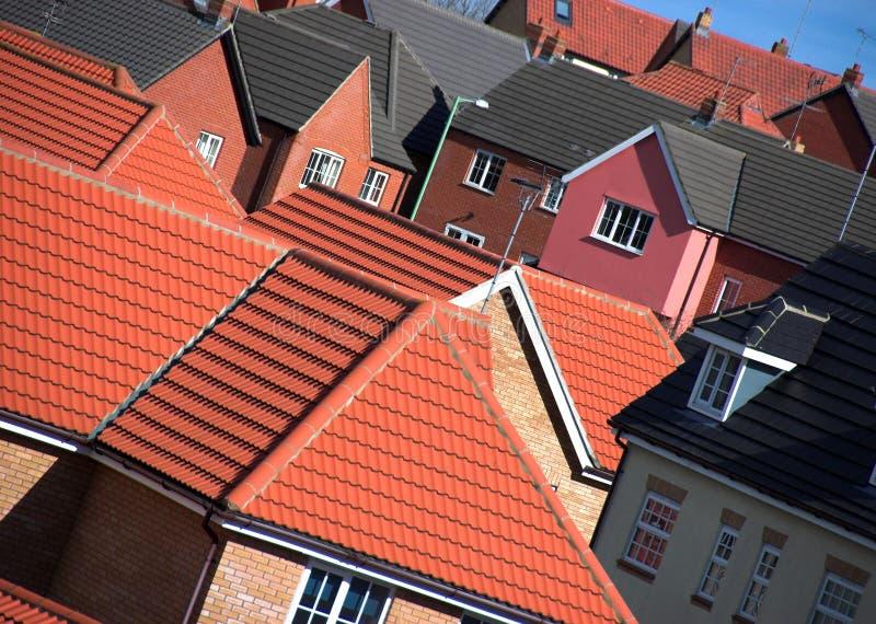 Urbanização inglesa fotografia de stock