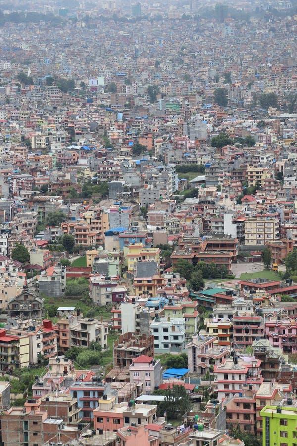 Urbanizzazione non gestita fotografia stock