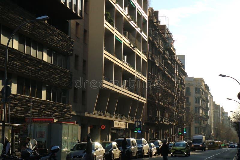 Urbano español imagen de archivo