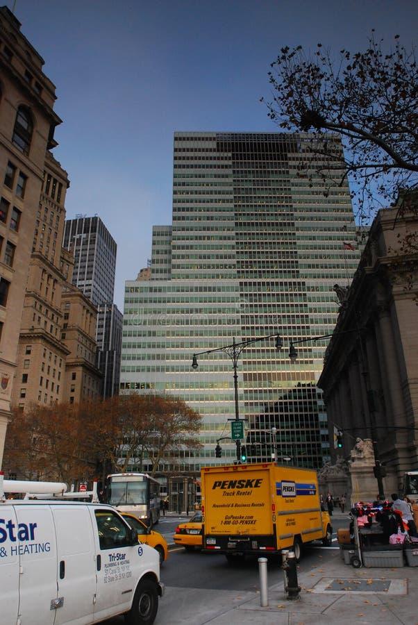 Urbano, scape da cidade New York fotografia de stock