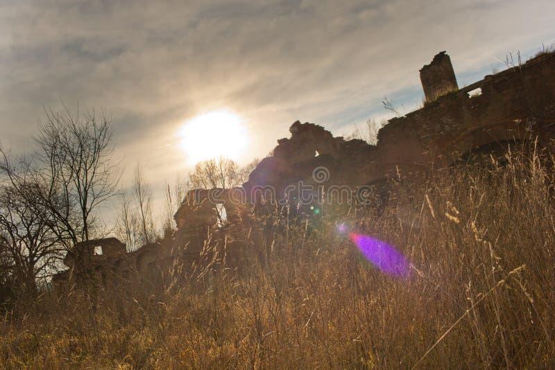 Urbex,被放弃的房子,捷克共和国 库存照片