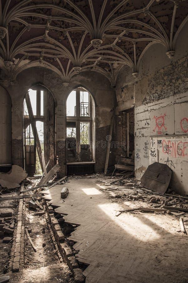 Urbex Castle royalty free stock image