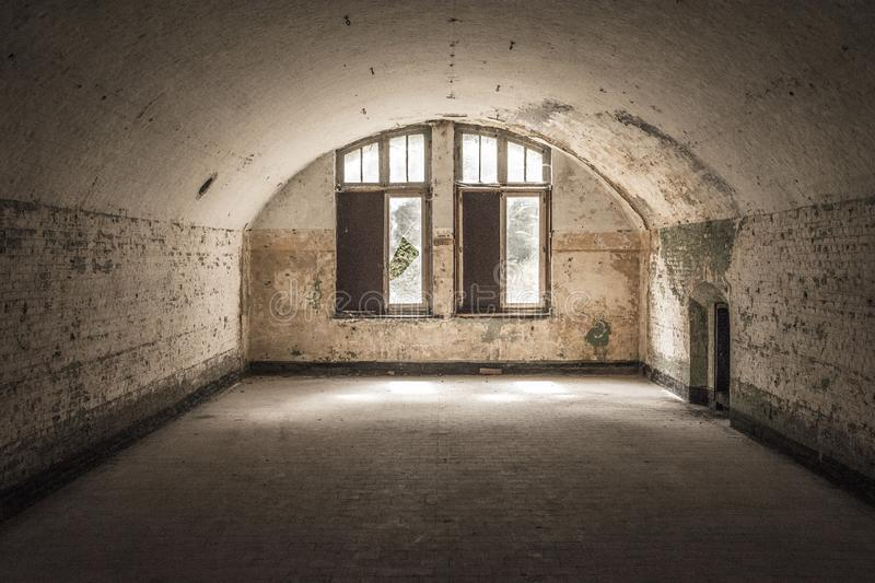 Urbex Military royalty free stock image