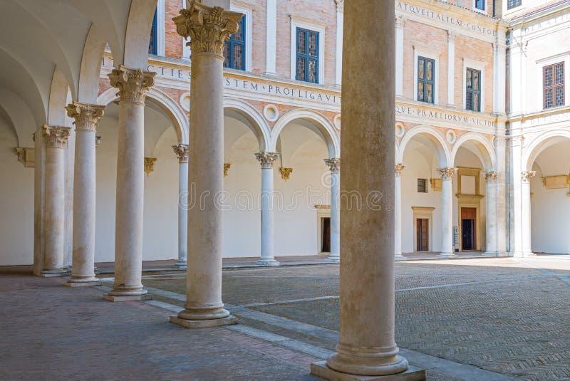 Urbino royalty-vrije stock afbeeldingen