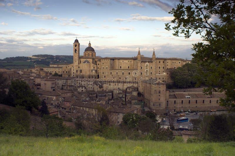 Urbino fotografie stock