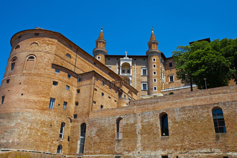 Urbino lizenzfreies stockbild